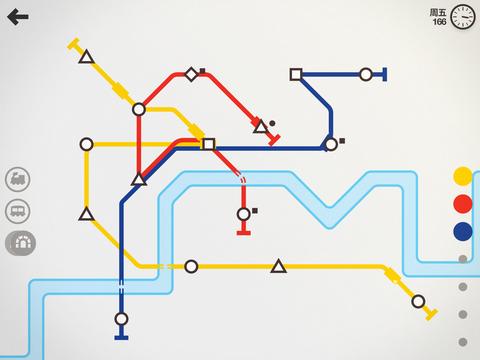 别急别急地铁马上就要到了:《迷你地铁》